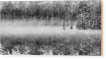Shrouded Panoramic  Wood Print by JC Findley