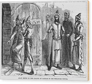 Siege Of Baghdad, 1258 Wood Print by Granger