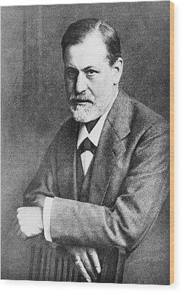 Sigmund Freud 1856-1939, At Age 45 Wood Print by Everett
