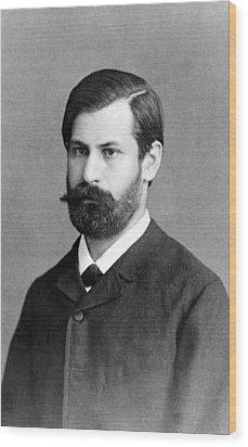 Sigmund Freud 1856-1939, In 1885, When Wood Print by Everett