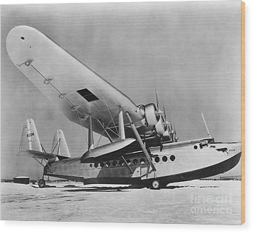 Sikorsky S-42 Wood Print by Photo Researchers
