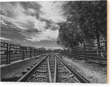 Wood Print featuring the photograph Silent Spur by Tom Gort
