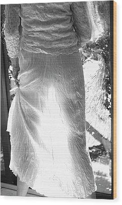 Silhouette Wood Print by Nancy Taylor