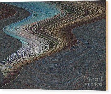 Wood Print featuring the photograph Silver Bay by Ausra Huntington nee Paulauskaite