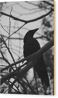 Sinistro Wood Print