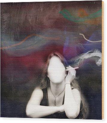 Sinking Wood Print by Mostafa Moftah
