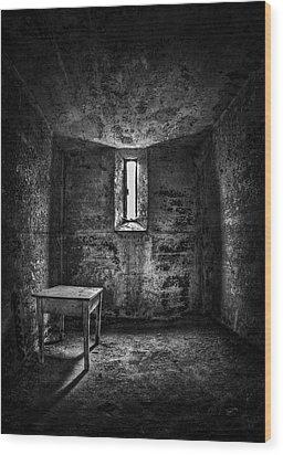 Sinner's Tale Wood Print by Evelina Kremsdorf