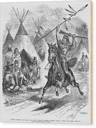 Sioux War, 1876 Wood Print by Granger