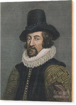Sir Francis Bacon (1561-1626) Wood Print by Granger