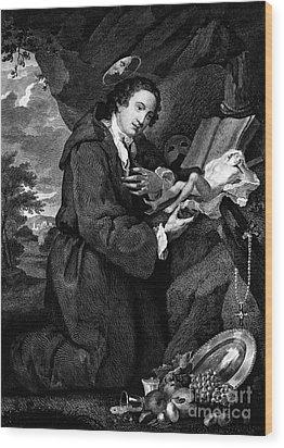 Sir Francis Dashwood Wood Print by Granger