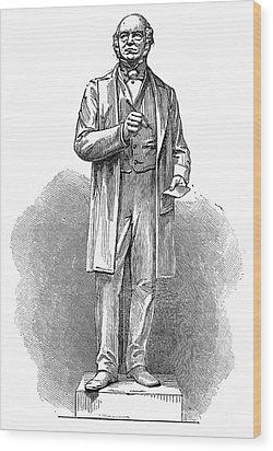 Sir Rowland Hill (1795-1879) Wood Print by Granger
