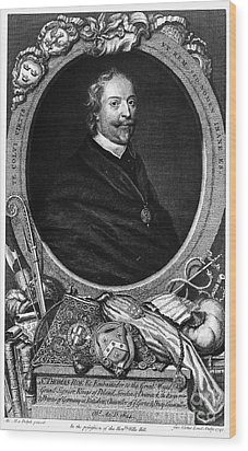 Sir Thomas Roe (c1581-1644) Wood Print by Granger