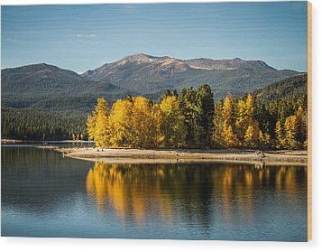Wood Print featuring the photograph Siskiyou Lake by Randy Wood