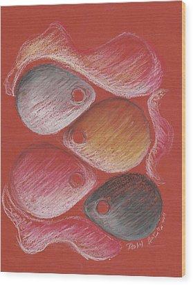 Skins Wood Print by Pa Ul