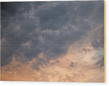 Wood Print featuring the photograph Sky 1 by John Crothers