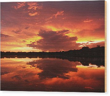 Wood Print featuring the photograph Sky Chaos by Bill Lucas