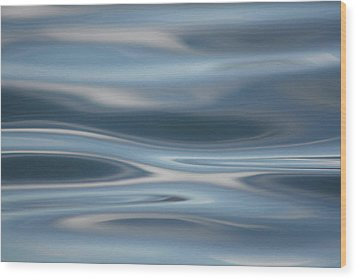 Wood Print featuring the photograph Sky Waves by Cathie Douglas