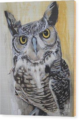 Skye Wood Print