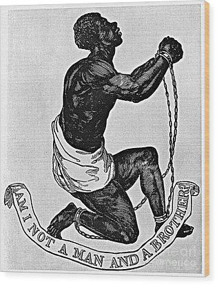 Slavery: Abolition, 1835 Wood Print by Granger