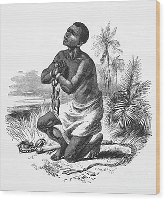 Slavery: Abolition Wood Print by Granger