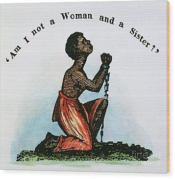 Slavery: Woman, 1832 Wood Print by Granger