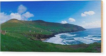Slea Head, Dingle Peninsula, Co Kerry Wood Print by The Irish Image Collection