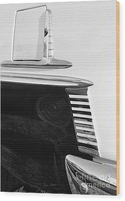 Sleek Wood Print by Luke Moore