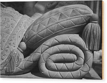 Sleep Eternal Wood Print by Lisa Knechtel
