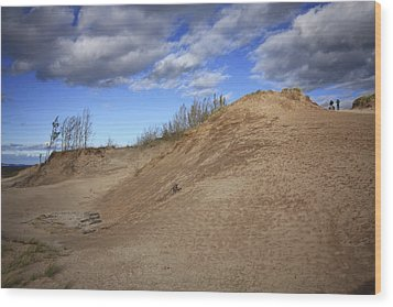 Wood Print featuring the photograph Sleeping Bear Dunes by Patrice Zinck