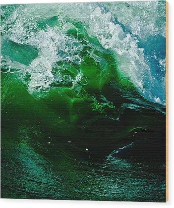 Sleeping Beauty Wave 2 Wood Print by Atom Crawford