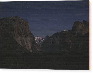 Sleeping Giants Wood Print