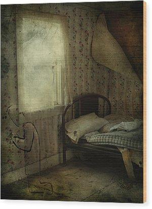 Sleepless Prayers  Wood Print by Jerry Cordeiro