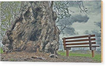 Sleepy Hallow Awakens Wood Print by Jeramie Curtice
