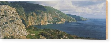 Slieve League, Co Donegal, Ireland Wood Print by The Irish Image Collection
