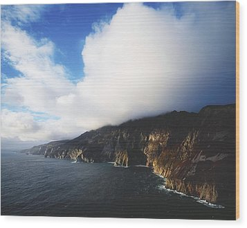 Slieve League, County Donegal, Ireland Wood Print by The Irish Image Collection
