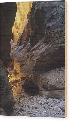Slot Canyon Wood Print by Cliff Wassmann
