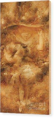 Small Fairy Wood Print by Svetlana and Sabir Gadzhievs