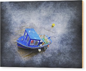 Small Fisherman Boat Wood Print by Svetlana Sewell