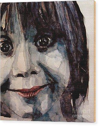 Smile Wood Print by Paul Lovering