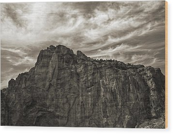 Wood Print featuring the photograph Smith Rock by Tyra  OBryant