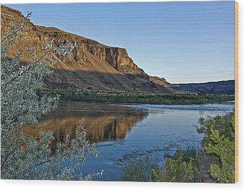 Snake River Wood Print