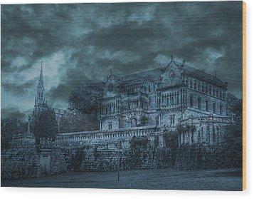 Sobrellano Palace Wood Print