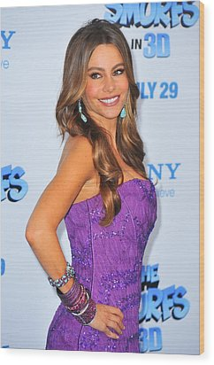 Sofia Vergara Wearing Lorraine Schwartz Wood Print by Everett