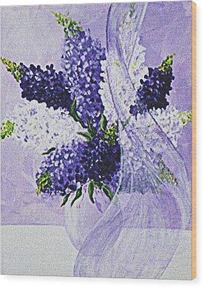 Soft Breeze Wood Print by Kume Bryant
