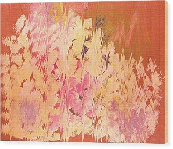 Soft Echoes Wood Print by Anne-Elizabeth Whiteway