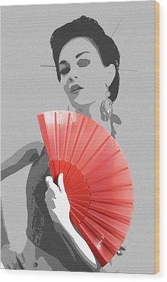 Sola Wood Print by Naxart Studio