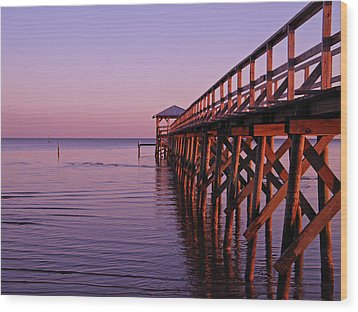 Wood Print featuring the photograph Solitude by Brian Wright