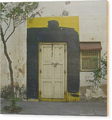 Wood Print featuring the photograph Somebody's Door by David Pantuso