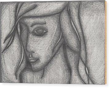 Someone I Knew Wood Print by Daniel Libby