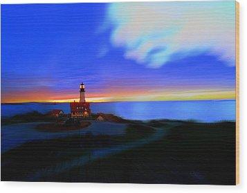 Somewhere Between Asleep And Awake Wood Print by Rick  Blood